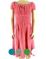 Vestido  de Bambula - Niña  x 3 unds. Tallas:12 al 16