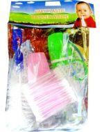 6 Set Mamadera de Plástico