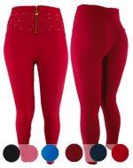Calzas Elásticadas con cierre x12 unds Tallas: Standar