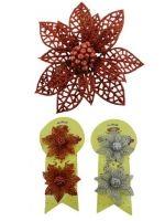 6 Packs Flores Navideñas