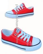Zapatillas de Lona con Ecocuero x 6 Pares Talla:39 - 44