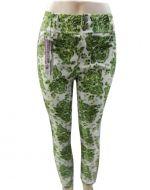 Pantalon Floreado x 4 unds. Tallas : XL