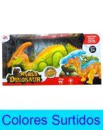 Dinosaurio con Luz y Sonido x 4 Unds.  Medida: 11 x 9 cm Aprox.