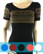 Camiseta Reductora con diseño x12 unds. Tallas: Standar