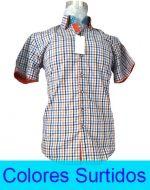 Camisa Manga Corta Hombre x4 Unds. Tallas: M a la 4XL