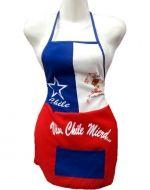 Delantal Chile x6  Unds