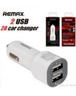 Remax Cargador para Auto para Telefono 1A 2 Usb x 6 Unds.