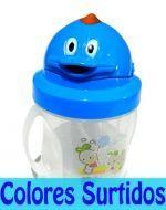 Vaso con bombilla para bebe 200 ml x 6 unid