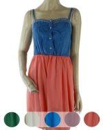 Mini Vestido de Gasa x3 unds. Tallas: L