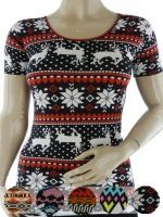 Camiseta de Algodón x12 unds. Tallas: Standar