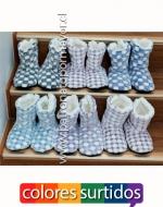 Zapatillas de gamuza x 16 pares Talla: 39 al 44