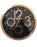 Reloj de Metal para Pared x 2 Unds. Medida: 39x39x4 cm
