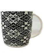 Taza de ceramica  8 x 8 x 9 cm x 12 und.