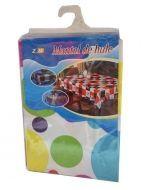 Mantel de Hule con Diseño x4 unds