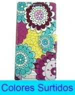 Flip Cover con Diseño Huawei Y6II x6 Unds.