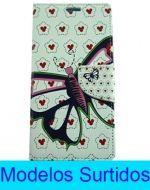 Flip Cover con Diseño Samsung Galaxy J5 x6 Unds.