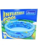 Piscina Inflable x 3 Unids.  Medidas : 90 cm aprox.