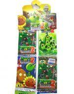6 Tiras de Cartas Plants vs Zombies