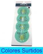 6 Set de Perchero  Adhesivo  Medidas : 1.5 kg.