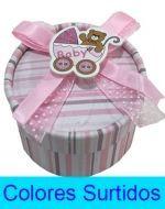 Caja de Carton para Baby Shower x12 Und. Medida: 7x4 cm Aprox.