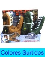 4 Set de Cabeza Dinosaurio de Goma.