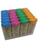 Caja Mondadientes Bambú  de 7 cm aprox.  x1 caja