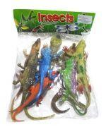 4 Set de Insectos con Sonido. Medida: 24 x 12 cm.