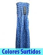 Mini vestido Tela x 6 unds. Tallas: Standar