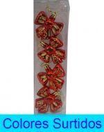 Set adorno Navideño de 4cm Aprox. x 6 Unids