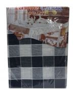 Mantel Escoses Cuadrado x4 unds  Medidas: 150x250 cm