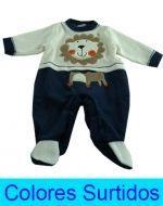 Enterito Plush Niño  x 3 unds. Talla: de 0 a 6 meses