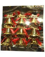 Set Adorno Navideño de Campanas x6 Set