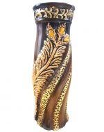 Florero de cerámica x 4 unds. Medidas : 35 x 10 cm aprox.