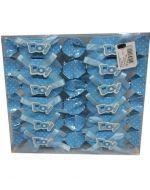 Accesorio para Baby Shower x24 Und. Medida: 12 cm Aprox.