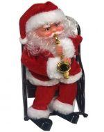 Santa Rocking Chair 23x18x6cm. x4 unds
