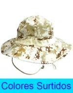 Sombrero de Hombre Algodón x 6 Unds. Medida: 59  Diámetro