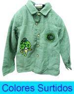Camisa Niño Interior Piel x 3 unds. Talla: 2 - 8