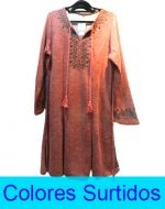 Vestido Lanilla Dama con Diseño x3 Unds Talla: 4XL