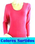 Camisetas Reductoras Interior Polar x12 unds. Talla: Standar