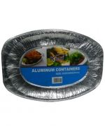 12 Set Bandeja Aluminio 24 x 24 x 5 cm