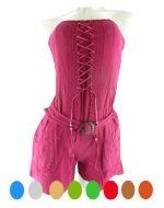 Vestido de Bambula - Evihon x 3 unds. Tallas: Standar
