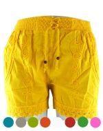 Shorts de Bambula x 4 unds. Tallas : Standar