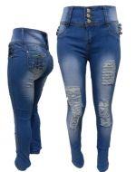 Pantalon Jeans Dama x6 unds. Tallas: 36 al 46