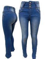 Pantalon Jeans Push Dama x6 unds. Tallas: 36 al 46