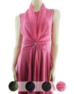 Vestidos de Lycra x4 unds. Tallas: S - M