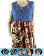 Mini Vestidos x5 unds. Tallas: S/M - XL/XXL