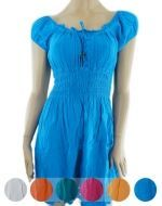 Vestidos de Bambula x3 unds. Tallas: Standar