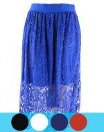 Faldas de Encaje x4 unds. Tallas: Standar