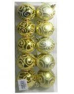Bolas Navideños x4 Packs