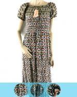 Vestido De Algodon Floreado x4 unds. Tallas: Standar